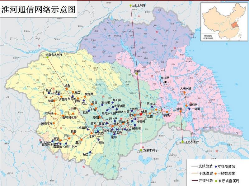 江苏秦岭淮河一线地图